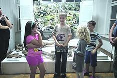 sremska mitrovica03 aleksa vodi turisticke ture kroz muzej srema foto narcisa bozic