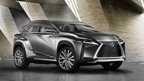 Lexus LF-NX - trafny koncept