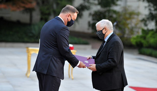 Kaczyński już formalnie w rządzie. Prezydent dokonał zmian w składzie Rady Ministrów