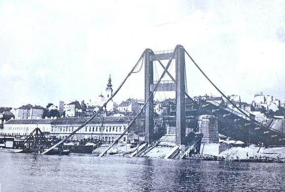 Beograd posle bombardovanja 1941. godine