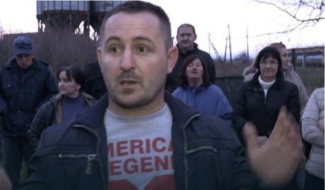 Protest radnika u Novoj Topoli