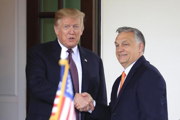 Donald Tramp i Viktor Orban