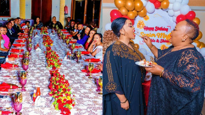 Rev. Lucy Natasha throws an exquisite Birthday party for her Pastor Mum as she turns 58 (Photos)
