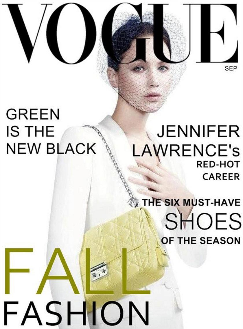 "Jennifer Lawrence ""Vogue"""