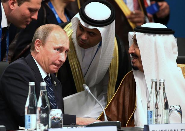 Prezydent Rosji Władimir Putin na szczycie G20