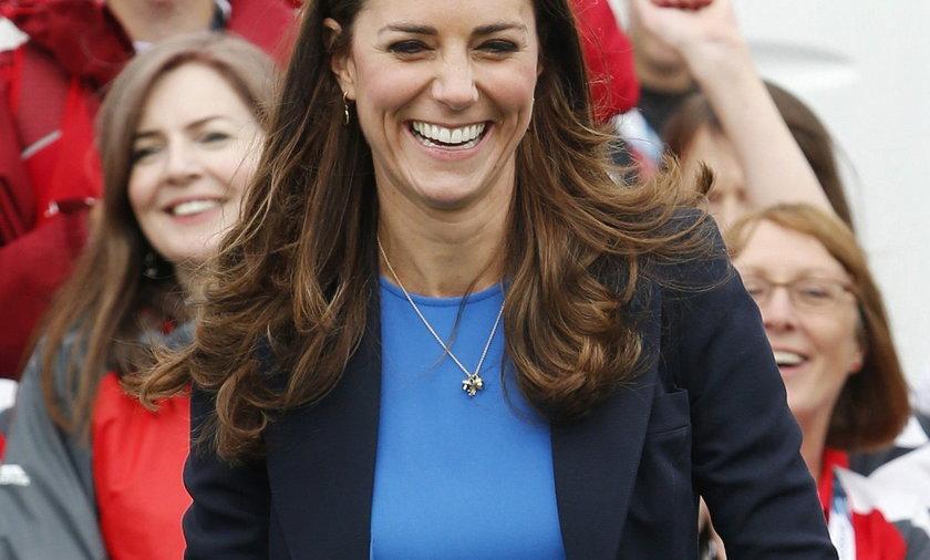 Kate Middleton na rozgrywkach sportowych w Szkocji