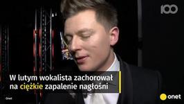 Rafał Brzozowski miał problemy z głosem