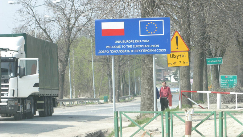 Zablokowana granica z Ukrainą w Hrebennem