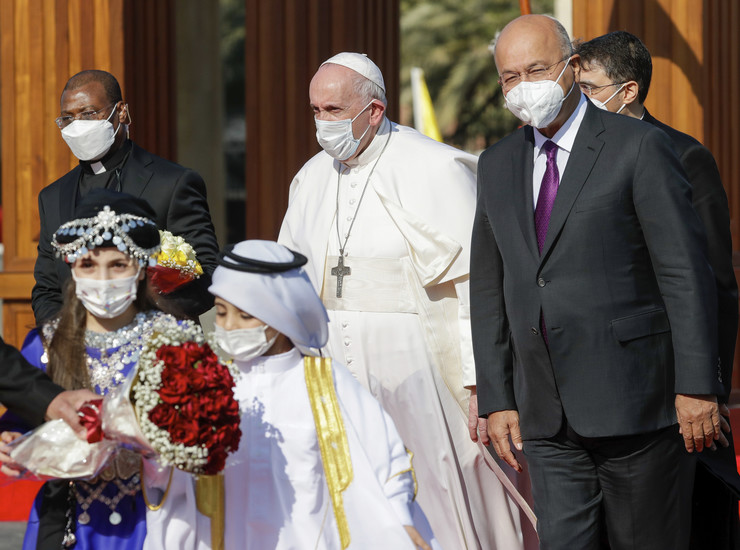 Papa Franja, Irak