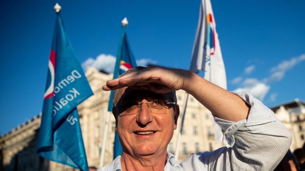 """Gyurcsány Ferenc: """"Tegnap Orbán, ma Kocsis. Istenemre ezek belém szerettek"""""""