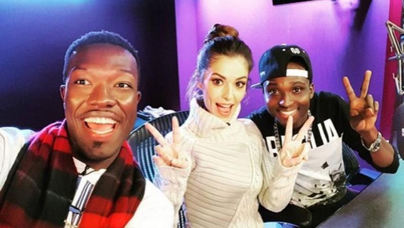 Reggie N Bollie with Cheryl in the middle