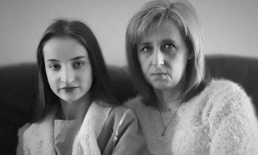 15-letnia Gabrysia z mamą Zdzisławą