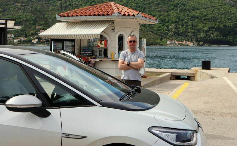 Marek Wawrzeniec i Volkswagen ID.3 w podróży przez osiem państw w osiem dni