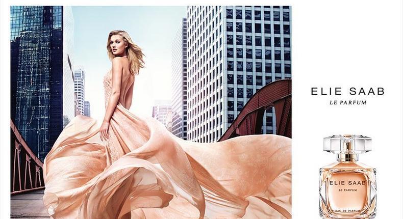 Toni Garrn fronts Elie Saab La Parfum ad campaign