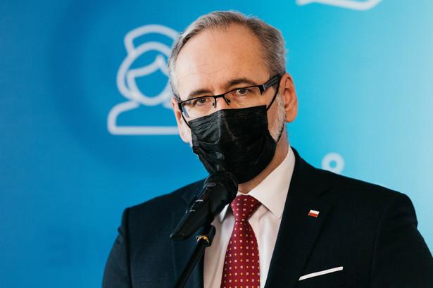 Minister zdrowia Adam Niedzielski
