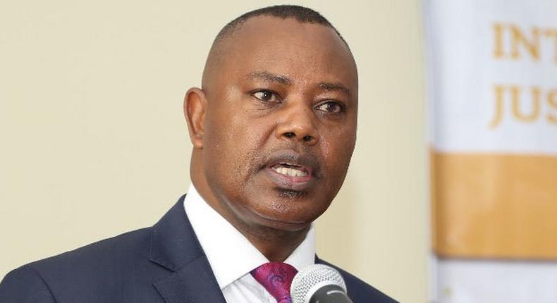 The Director of Criminal Investigations George Kinoti