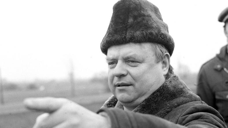 """Stanisław Bareja na planie """"Misia"""""""