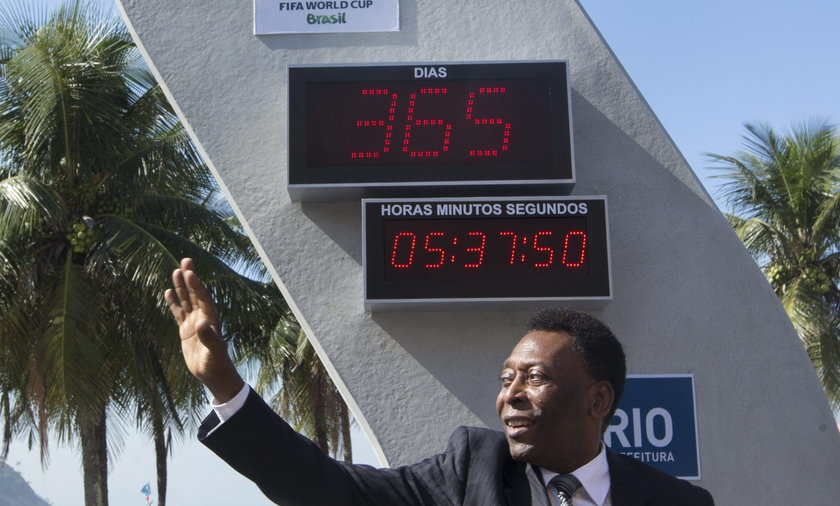 Zepsuł się zegar odmierzający czas do MŚ w Brazylii
