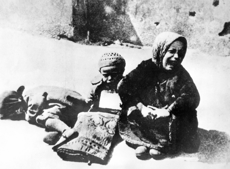 Dzieci w getcie warszawskim - data nieznana