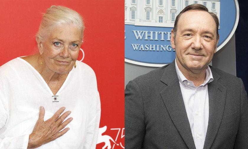 Laureatka Oscara nie wystąpi w filmie z Kevinem Spaceyem. Vanessa Redgrave nie chciała grać z aktorem?