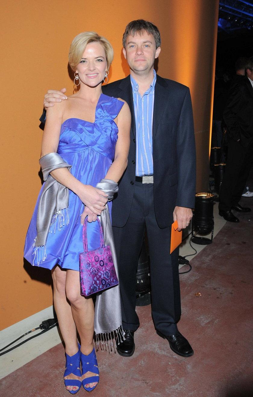 Monika Richardson i Jamie Malcolm na salonach