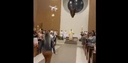 Lewitująca hostia w kościele. To żaden cud, ale działo się naprawdę!