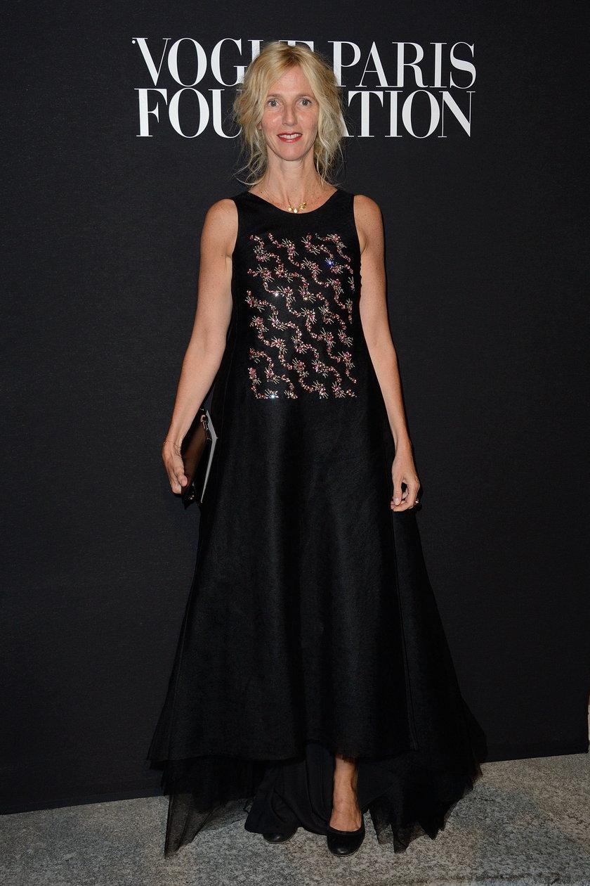 Sandrine Kiberlain na gali Vogue Foundation