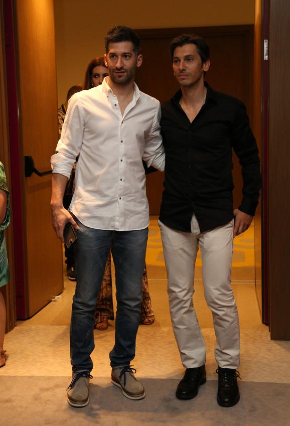 Filip Miletić i Miloš Roganović