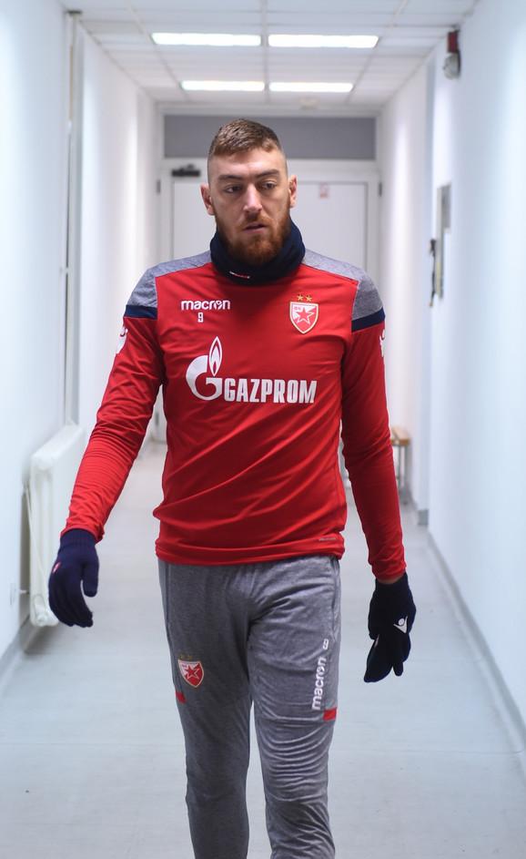 Milan Pavkov stiže na pripreme crveno-belih