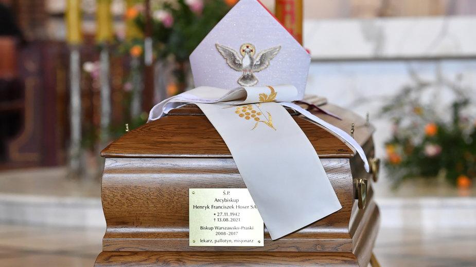 W piątek odbył się pogrzeb abpa Henryka Hosera