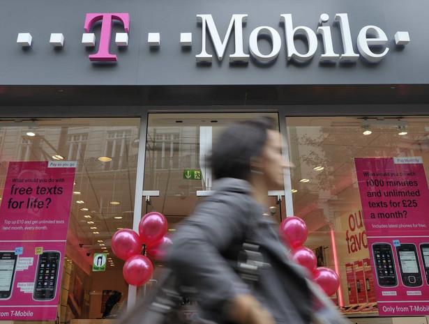 T-Mobile. Fot. Bloomberg