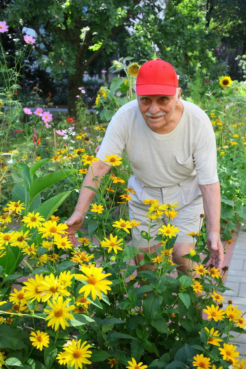 Mam najpiękniejszy ogród w stolicy!
