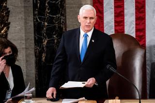 Mike Pence weźmie udział w inauguracji Bidena