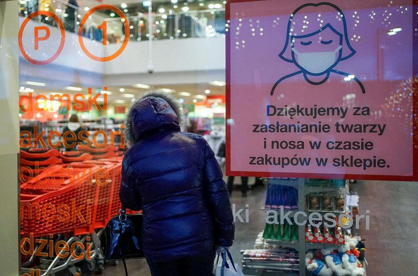 Kolejki do sklepów