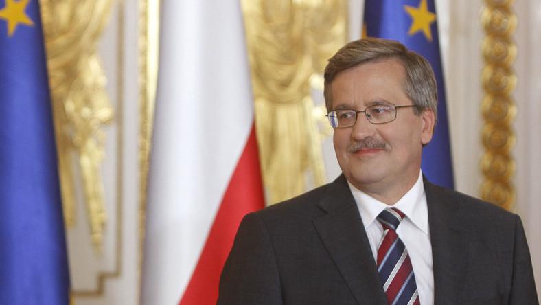 Prezydent Bronisław Komorowski pogratulował Agnieszcze Holland nominacji do Oscara