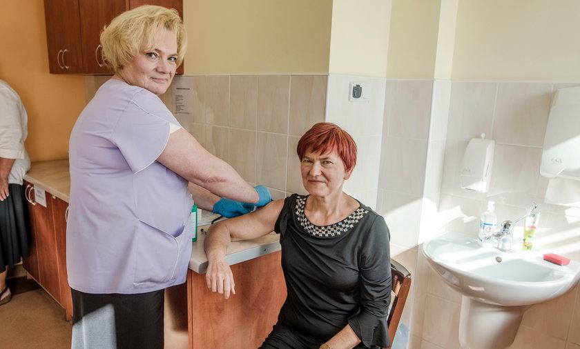 Darmowe szczepienia dla seniorów w Łodzi