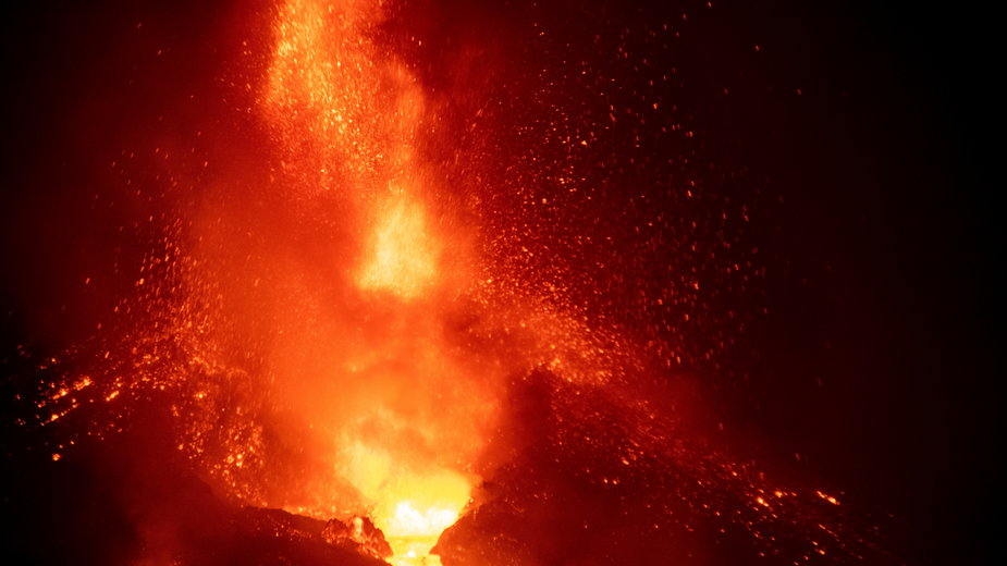 Wulkan Cumbre Vieja