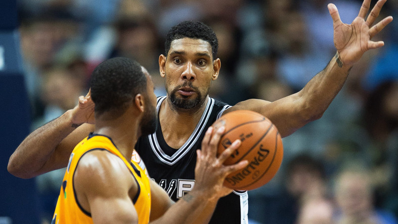 Tim Duncan i Reggie Redding