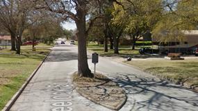 USA: w niewielkim miasteczku na środku drogi można zobaczyć... grób