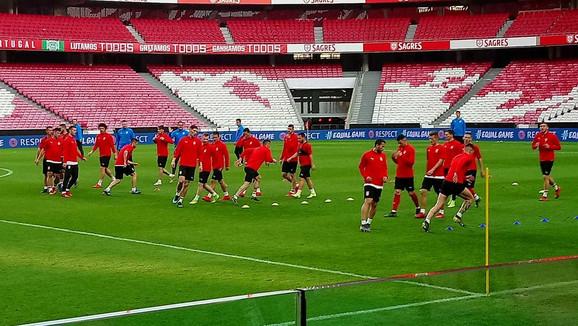 Fudbaleri Srbije su ove nedelje odradili trening pred meč sa Portugalom