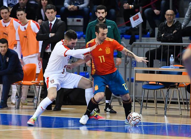 Detalj sa utakmice Srbija - Španija