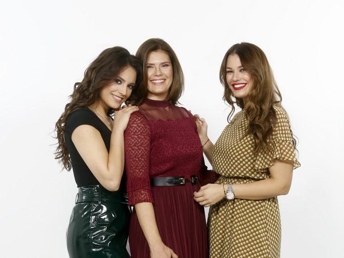 Marina, Stela i Tamara Ćosić - tri lepotice iz jedne porodice