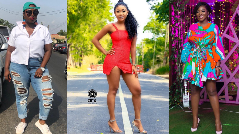 Lydia Forson, Rosemond Brown and Yvonne Okoro