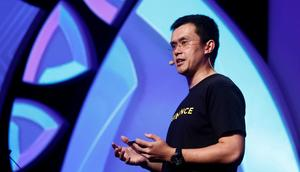 Changpeng Zhao, CEO of Binance.