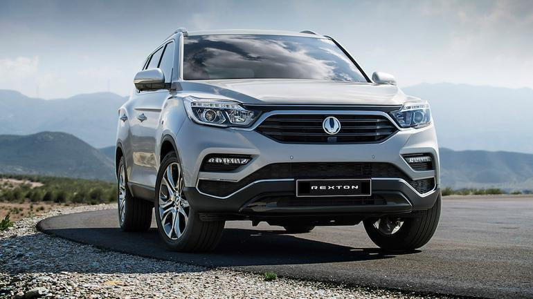 Nowy SsangYong Rexton
