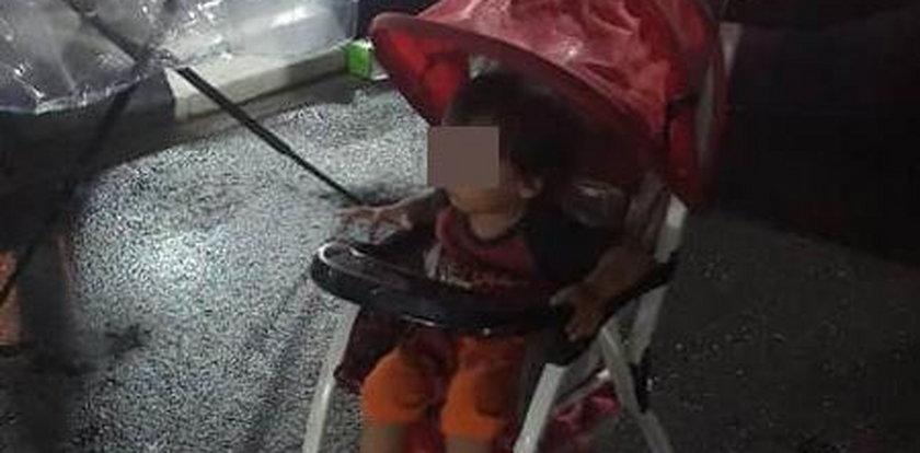 Zostawił dziecko na deszczu, by żebrało na jego długi. Teraz się tłumaczy