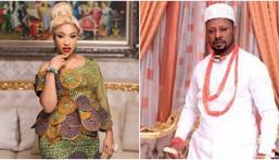 Tonto Dikeh and her ex boyfriend Comrade Prince Kpokpogri [Instagram/TontoDikeh] [DailyTimes]
