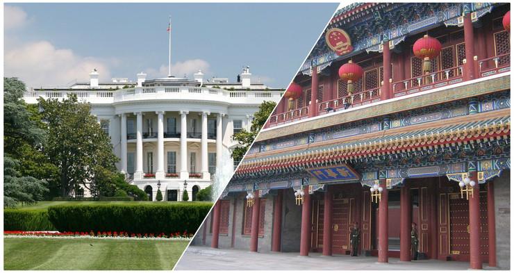 SAD VS Kina Kolaž