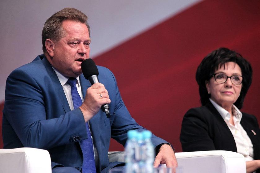 Zgrzyt na linii Witek–Zieliński
