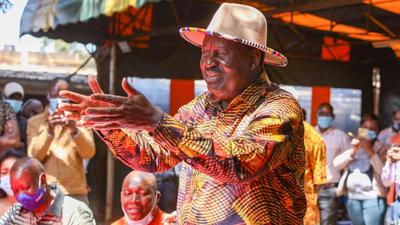 Youths disrupt Raila's rally in Githurai